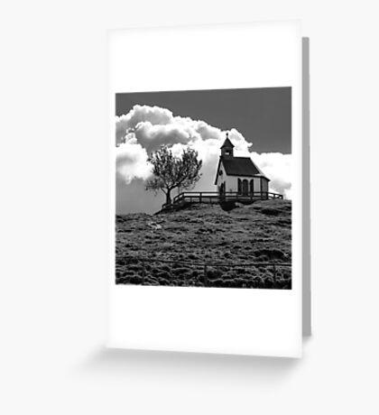 Chapel - Postalm - Austria Greeting Card