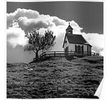 Chapel - Postalm - Austria Poster