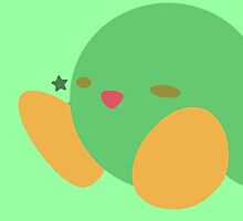 Kirby (Green) by ejstupid