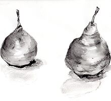 Two Pears by Paris Lomé