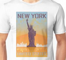 New York vintage poster Unisex T-Shirt