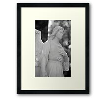 Angelic Strength Framed Print