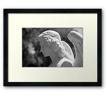 The Gaze of an Angel Framed Print