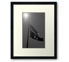 Patriotic Sacrifice Framed Print