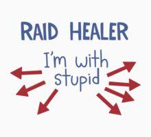 Raid Healer by raisehelia