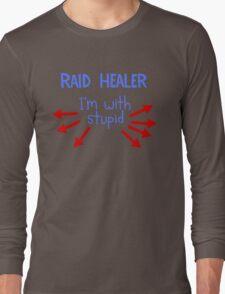 Raid Healer Long Sleeve T-Shirt