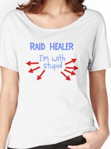 Raid Healer Women's Relaxed Fit T-Shirt