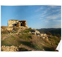 Old House with a View Poster
