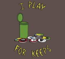 I play for keeps! by MOMOshwing