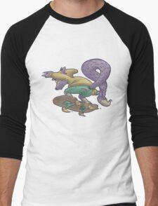 Skater Fox Demon Men's Baseball ¾ T-Shirt