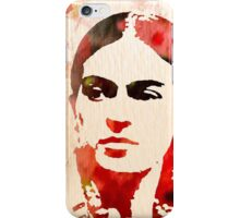 I paint my own reality Frida Kahlo quote iPhone Case/Skin