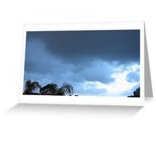 Evening Sky in the Adelaide Southern Suburbs Greeting Card