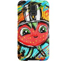Berry Berry with a Football helmet Samsung Galaxy Case/Skin