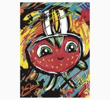 Berry Berry with a Football helmet Kids Clothes