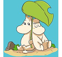 The moomins drawing Photographic Print