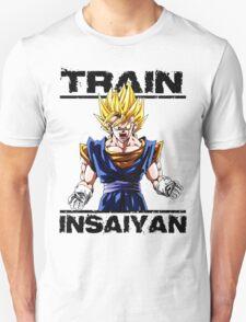 Train insaiyan Songoku (White Version) T-Shirt