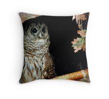 Birds Of Prey Throw Pillow