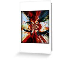 Krusty Kaleidoscope Greeting Card