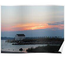 York River Sunset Poster