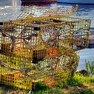 "New England ""Lobstah"" Traps by Monica M. Scanlan"