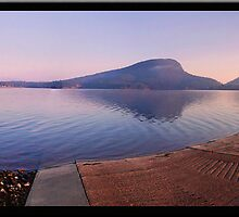 Early Morning at the Boatramp by Kym Howard