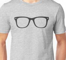 Hipster Glasses - Straight Unisex T-Shirt