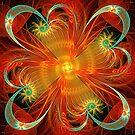 oriental flower  by LoreLeft27
