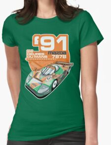 MAZDA - 787B GROUP C2 Womens Fitted T-Shirt