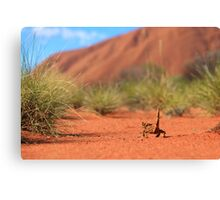 Follow me to Ayers Rock Canvas Print