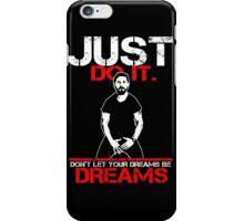 Shia Labeouf Dreams (Black Version) iPhone Case/Skin