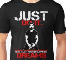 Shia Labeouf Dreams (Black Version) Unisex T-Shirt