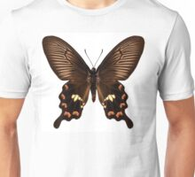 "Butterfly species Pachliopta aristolochiae antissa ""Common rose"" Unisex T-Shirt"