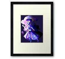Mirror Gem Framed Print