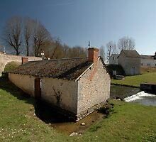 Renne River Buildings,France,Europe 2012 by muz2142