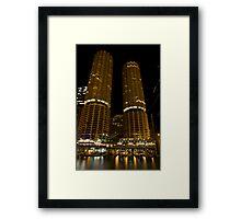 Marina Towers - Chicago, Illinois Framed Print