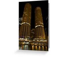 Marina Towers - Chicago, Illinois Greeting Card