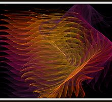 Wave Fractal by Debbie Robbins