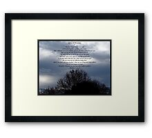 ~ Love Your Enemies ~ Framed Print