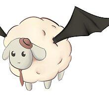 Elegant Fluffy Bat Sheep by ThatsPhobia