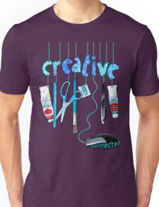 Connected Creative in Blue Unisex T-Shirt