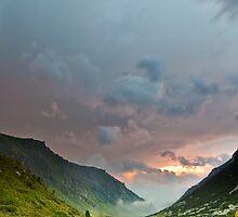 Dark sunset by fos4o
