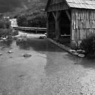 The Boat House (Black & White) by thatkellychic