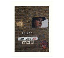 Buxton Street, E1  Art Print