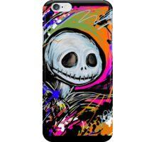 Jack Skellington Abstract iPhone Case/Skin
