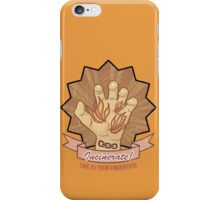 Bioshock - Incinerate! - Fire at your fingertips! iPhone Case/Skin