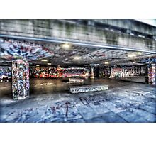 South Bank Skaters  Photographic Print