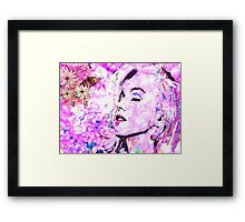 She Dreamed About Love Framed Print