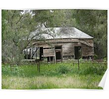 shearing shed? Poster