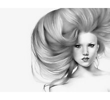 Fantasia..close up & natural Photographic Print