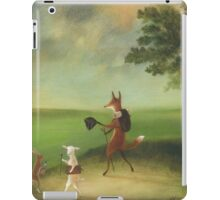 """Master Lamb and His Painting Tutor Discoursing on Perspective"" iPad Case/Skin"